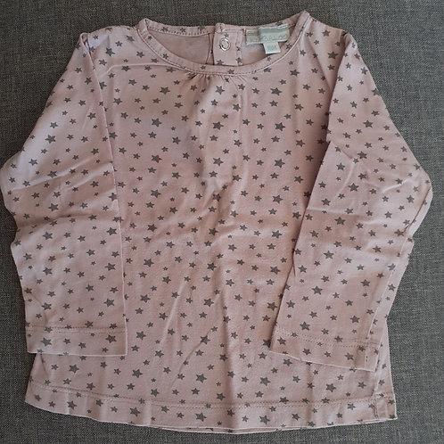 T-shirt mauve manches longues - Kimbaloo - 18 Mois