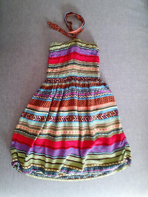 Robe colorée - 2 Ans