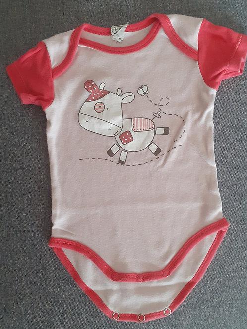 Body manches courtes - Mots d'enfants - 06 mois