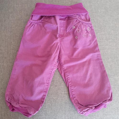 Pantalon mauve- H&M - 12 Mois