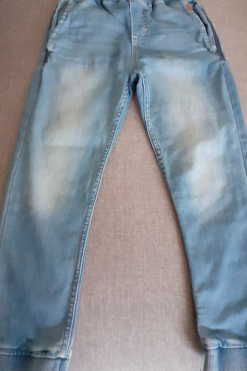 Jeans bleu - Jogger Denim - 10 Ans