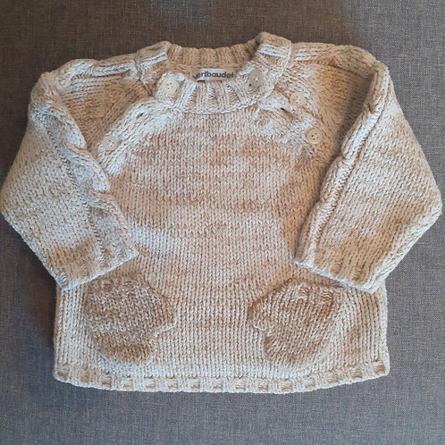 Pull chiné - Verbaudet - 6 Mois