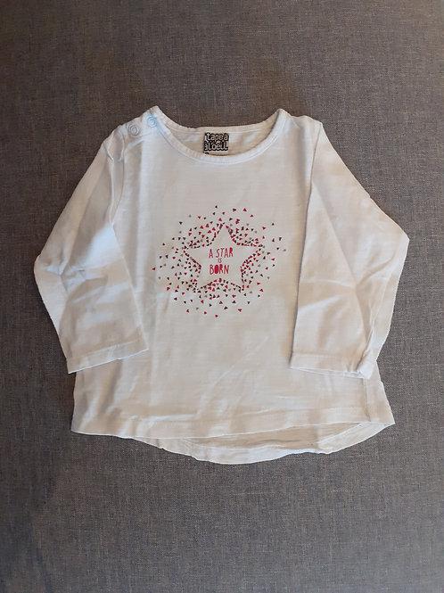T-shirt manches longues - Tape à L'Oeil - 09 Mois