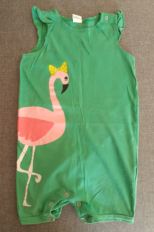 Barboteuse flamant rose - H&M - 12 Mois