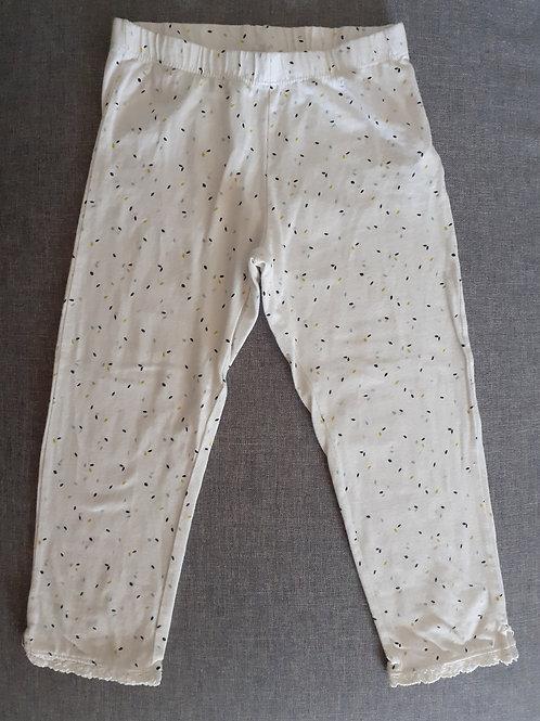 Legging 3/4 blanc - Kiabi - 12 Ans