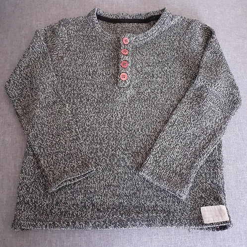 Pull gris chiné - 06 Ans