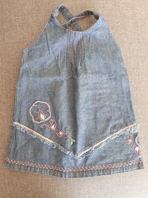 Robe en jean sans manches - Tout Compte Fait - 12 Mois