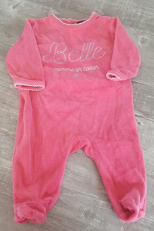 Pyjama rose - Kiabi - 3 mois