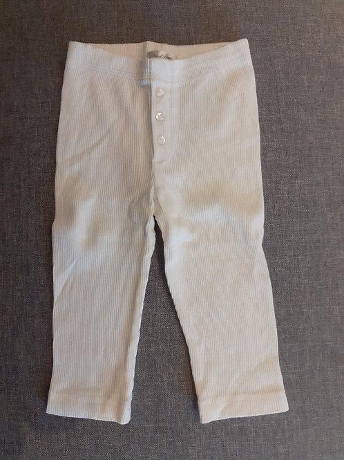 Legging blanc  - Bout'Chou - 09 Mois