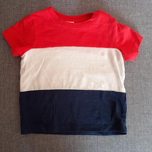 T-shirt manches courtes à rayures - H&M - 12 Mois