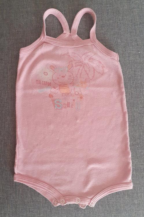 Body à bretelles - Mots d'enfants - 06 mois