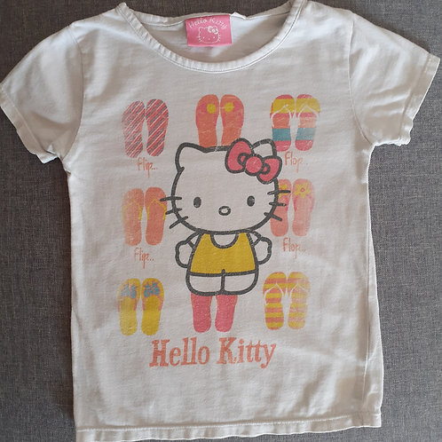 T-shirt manches courtes -Hello Kitty - 4/5 Ans