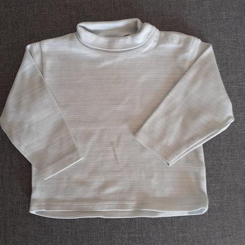 T-shirt col montant manches longues - Au bisou - 12 Mois