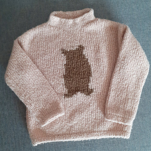 Pull col montant - Zara - 2 Ans
