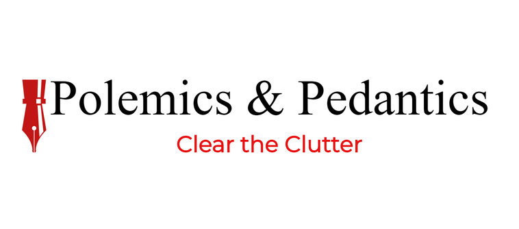 Polemics and Pedantics Logo