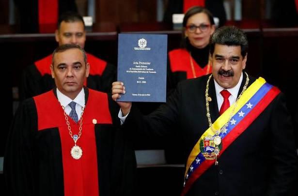 De-facto President of Venezuela, Nicolas Maduro.