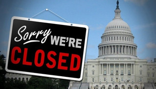 U.S. Government Shuts Down, Again.