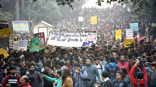 The Unrest in India's Premier Universities