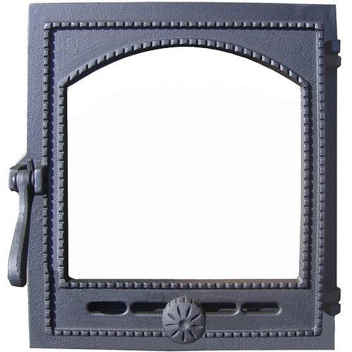 """Дверка топочная """"Онего"""" ДТГ-8АС со стеклом"""