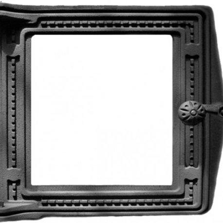 Дверка топочная крашенная ДТ-4С со стеклом