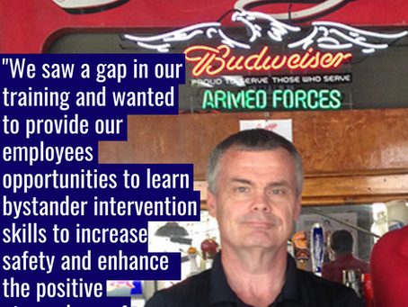 """""""We Saw a Gap in Our Training"""" - The SAFE Bar Network Story."""