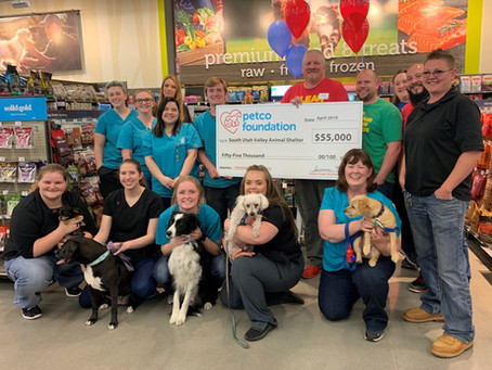 Thank you Petco Foundation!