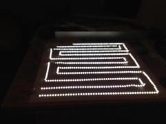 LED Backlit Sign