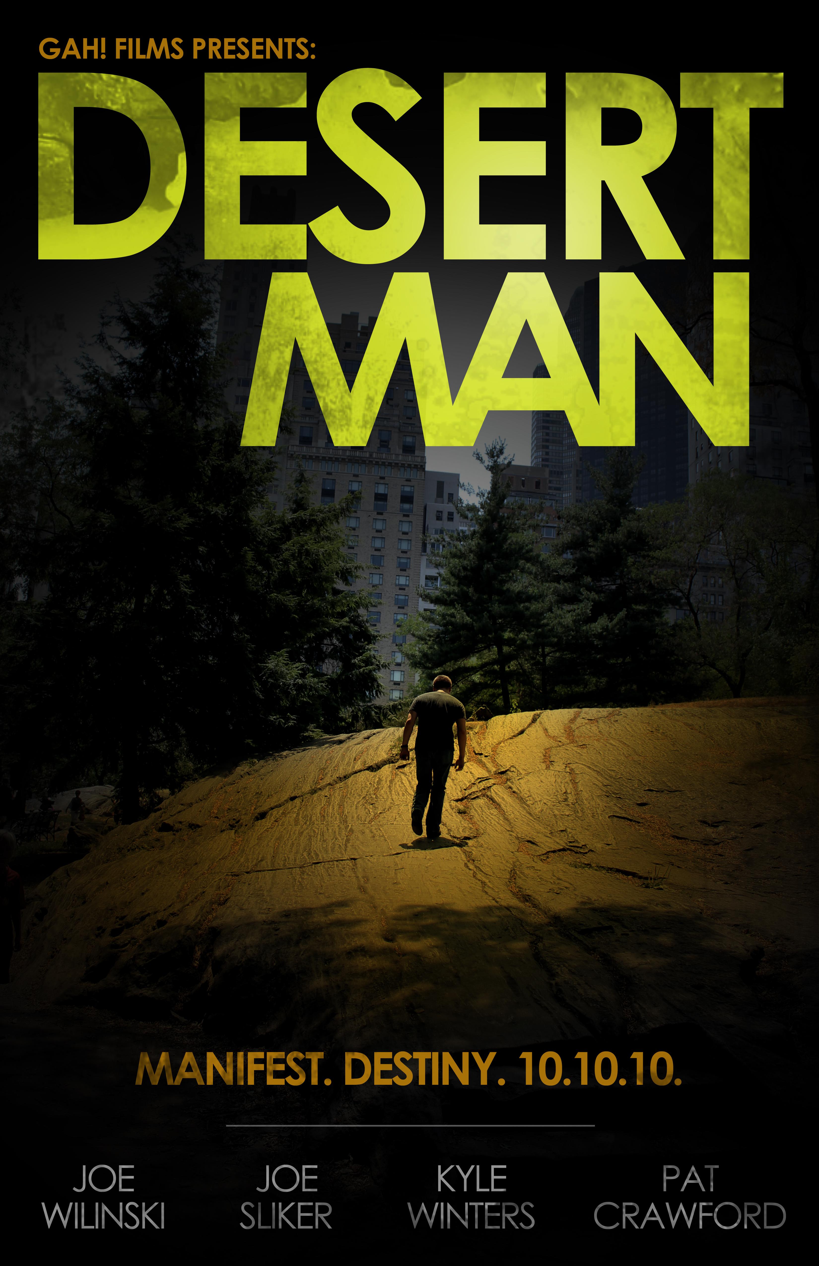 Desert Man Poster