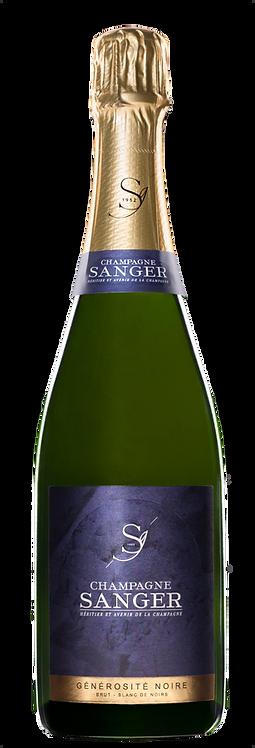 Champagne Générosité Noire