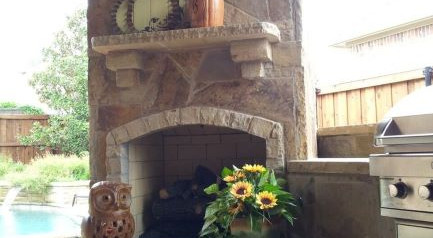Outdoor Kitchens And Fire Features - DFW Complete Outdoor ... on Dfw Complete Outdoor Living id=54883