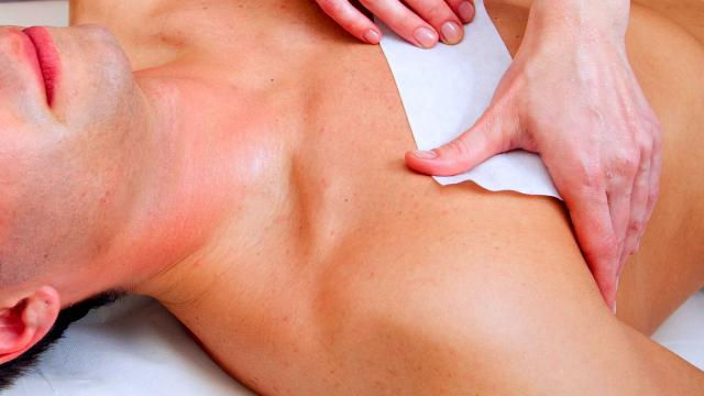 Chest Sugaring Hair Removal - Summer Spe