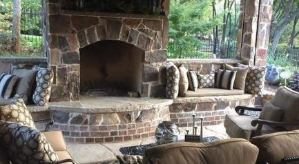 Outdoor Kitchens And Fire Features - DFW Complete Outdoor ... on Dfw Complete Outdoor Living id=39341