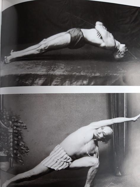 Krishnamacharya in yoga asanas
