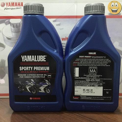 YAMALUBE SL /MA 10W40 FULL SYNTHETIC