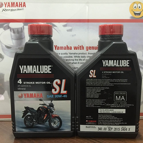 YAMALUBE SAE 20W-40