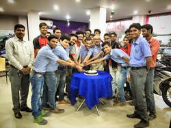Birthday Celebrations with Team