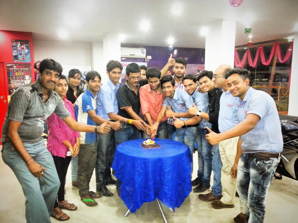 Birthday Celebrations with Team