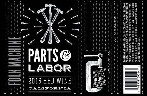 2017 Folk Machine Parts & Labor