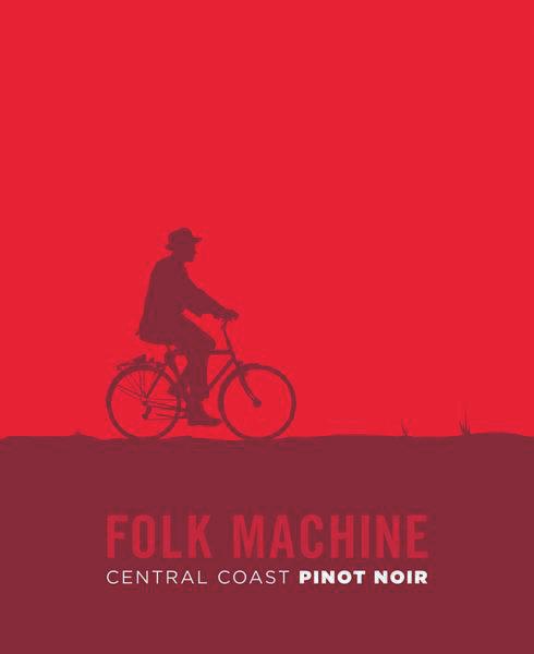 2017 Folk Machine Pinot Noir Central Coast