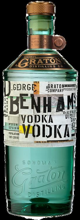 George Benham's Sonoma Vodka
