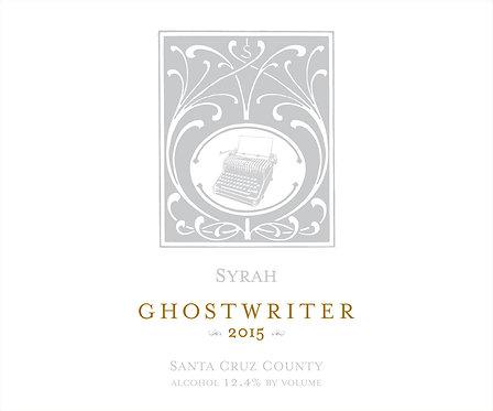 2015 Ghostwriter Santa Cruz Syrah