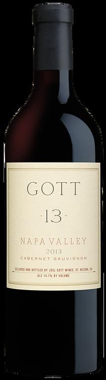 2013 Joel Gott #13 Cabernet Sauvignon