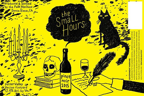 2015 Small Hours Pinot Noir