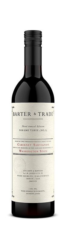 2016 Barter & Trade, Cabernet Sauvignon