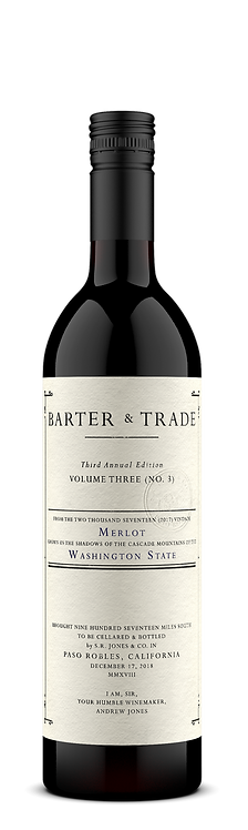 2017 Barter & Trade Merlot