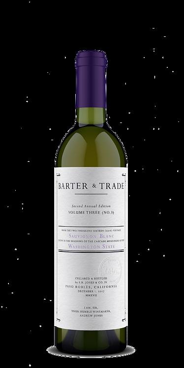 2016 Barter & Trade, Sauvignon Blanc