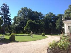 Parc boisé au Domaine Le Parc