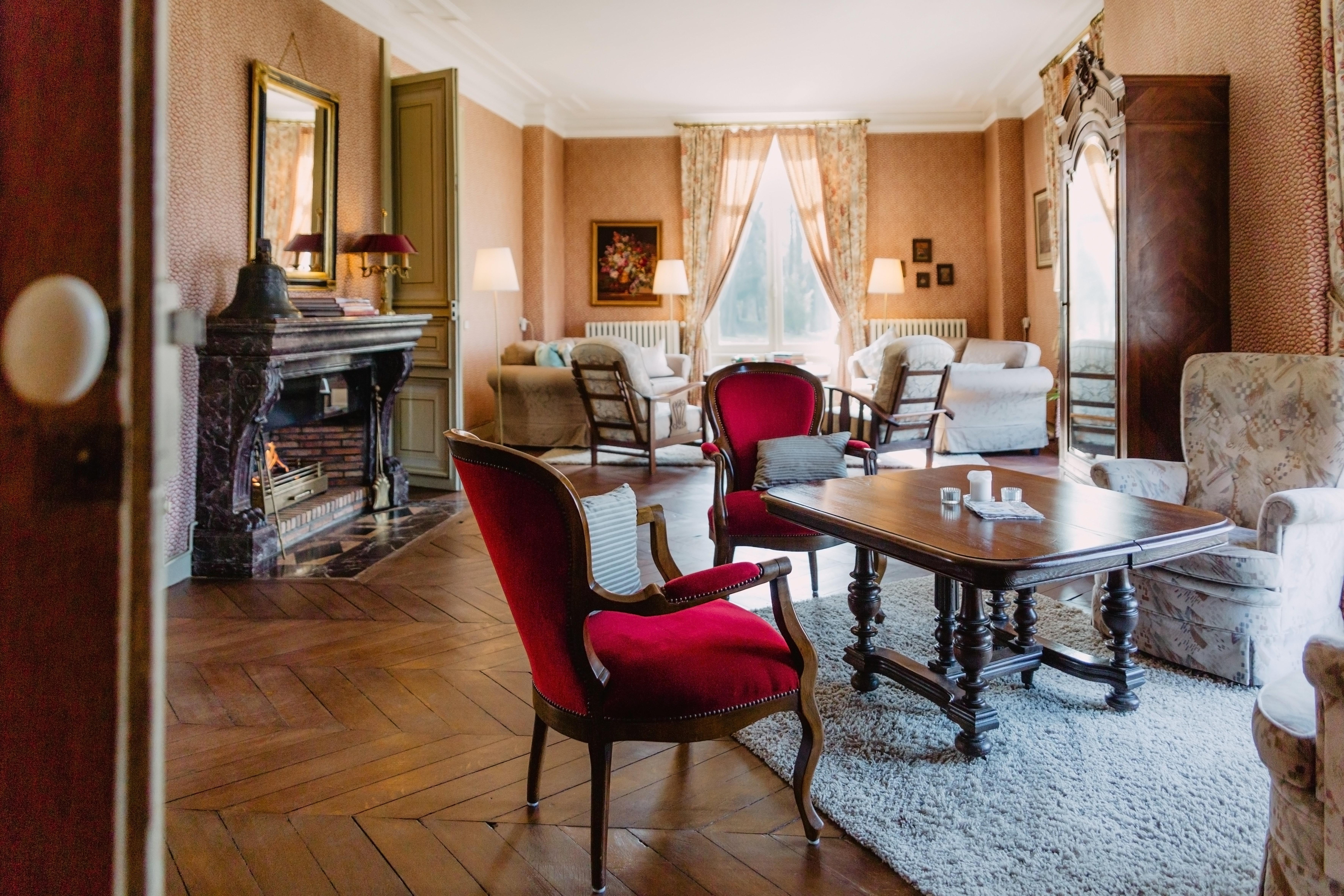 Salon d'epoque du Domaine LE Parc