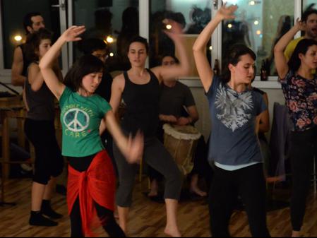 Danza descalza workshop from september 1st
