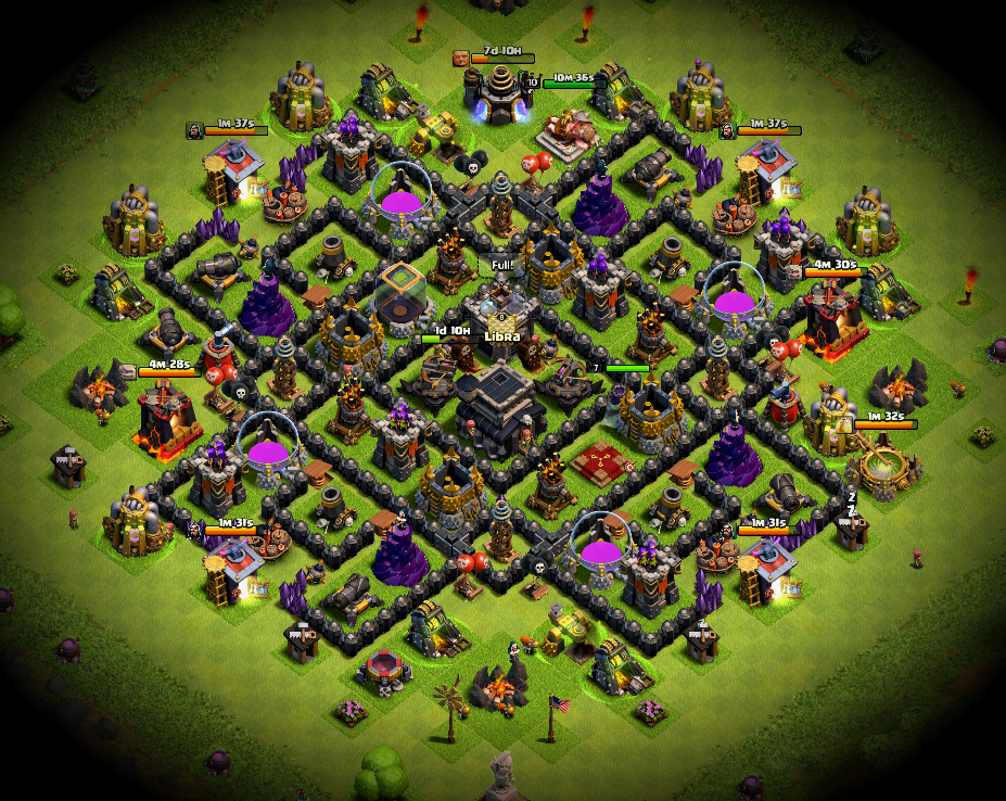 TH9 Trophy Push